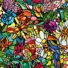 346-0647 Spring Chapel Window Film by Brewster