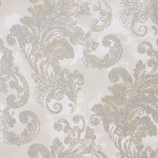 Gray Stone Leaves Wallcovering by Fabricut Wallpaper