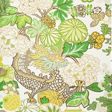Leaf Wallcovering by Schumacher Wallpaper