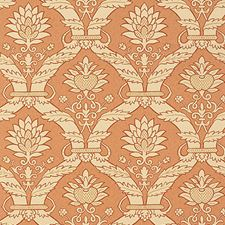 Terra Cotta Wallcovering by Schumacher Wallpaper