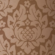Mocha Wallcovering by Schumacher Wallpaper