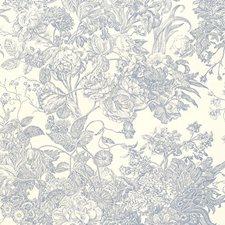 Hyacinth Wallcovering by Schumacher Wallpaper
