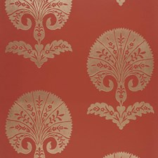 Paprika Wallcovering by Schumacher Wallpaper