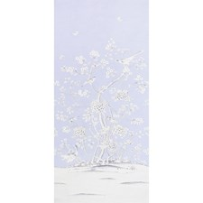 Lavender Wallcovering by Schumacher Wallpaper