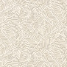 Linen Wallcovering by Schumacher Wallpaper