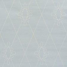 Water Blue Wallcovering by Schumacher Wallpaper