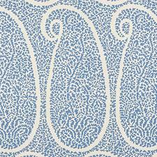 Bright Blue Wallcovering by Schumacher Wallpaper