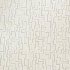 Neutral Geometric Wallcovering by Fabricut Wallpaper