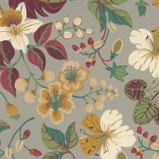 Orange/Rust Traditional Wallcovering by JF Wallpapers