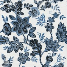 Sapphire On Cotton Canvas Linen Wallcovering by Phillip Jeffries Wallpaper