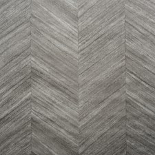 Wood Chevron Steel Hickory Wallcovering by Phillip Jeffries Wallpaper