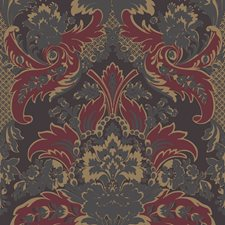 Red and Gold Wallcovering by Cole & Son Wallpaper