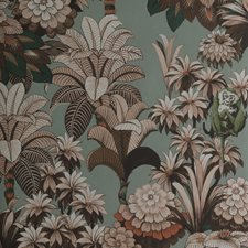 Leaves Wallcovering by S. Harris Wallpaper