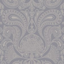 Silver/Grey Wallcovering by Cole & Son Wallpaper