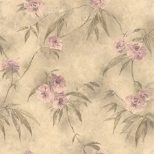 Mauve Trail Wallcovering by Brewster