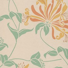 Apricot Wallcovering by Clarence House Wallpaper