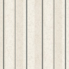 White/Dove Grey/Charcoal Grey Stripes Wallcovering by York