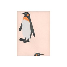Pink Animal Wallcovering by Andrew Martin Wallpaper