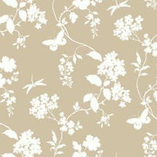 Tan/White Texture Wallcovering by York