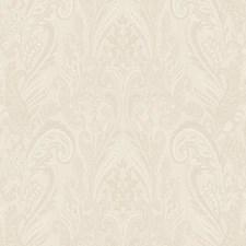 Cream/White/Grey Raised Prints Wallcovering by York