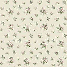 Light Cream/Blush Pink/Raspberry Floral Wallcovering by York