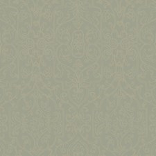 Pale Greenish Grey/Gold Glass Beads Wallcovering by York