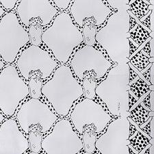 Black/White Animal Wallcovering by Brunschwig & Fils