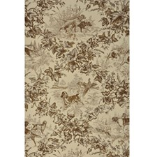 Tobacco Animal Wallcovering by Brunschwig & Fils
