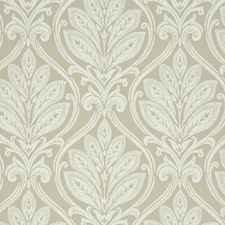 Stone/Ivory Damask Wallcovering by G P & J Baker