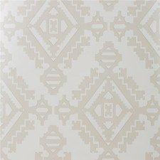 Stone Geometric Wallcovering by G P & J Baker