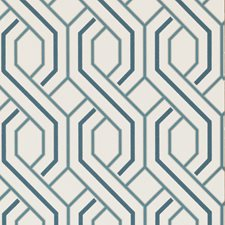 Indigo Wallcovering by G P & J Baker