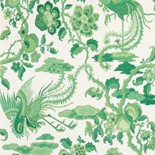 Emerald Animal Wallcovering by G P & J Baker