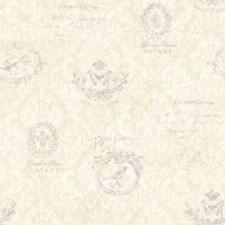 CCB02171 Belle Jardin Lilac Block Print by Brewster