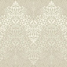 Beige/Off White Traditional Wallcovering by York