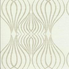 Brown/White/Metallic Geometrics Wallcovering by York