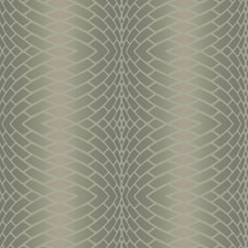 Frosted Champagne/Frosted Sherry Brown/Chinchilla Grey Plush Geometrics Wallcovering by York