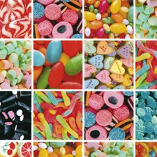 FAB12867 Sweets Adhesive Film by Brewster