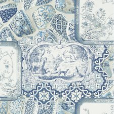 Indigo Wallcovering by Mulberry Home