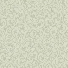 Pale Grey/Cream (pearl) Damask Wallcovering by York