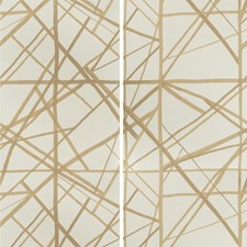 Latte/Suede Contemporary Wallcovering by Groundworks