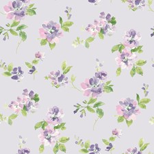 Lavender Wallcovering by Brewster