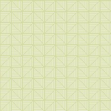 Yellow/Green/White Bohemian Wallcovering by York