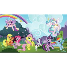 JL1334M My Little Pony Ponyville Mural by York