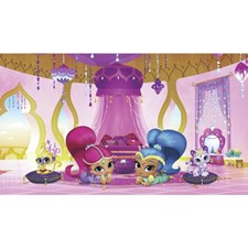 JL1386M Shimmer Shine Genie Palace Mural by York