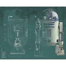 JL1402M Star Wars R2D2 XL Mural by York