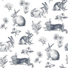 KI0581 Bunny Toile by York