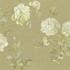Browns/Greens Floral Wallcovering by York