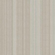 Pearl Gray/Medium Matt Gray/Deep Aqua Stripes Wallcovering by York