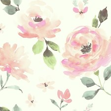 LK8318 Watercolor Blooms by York