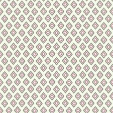 White/Silver/Pink Geometrics Wallcovering by York